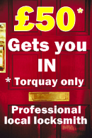 Torquay special locksmith offer