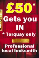 Torquay special locksmith offer